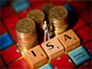 coins and isa on scrabble board