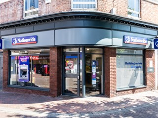 Nationwide Building Society branch high street lender